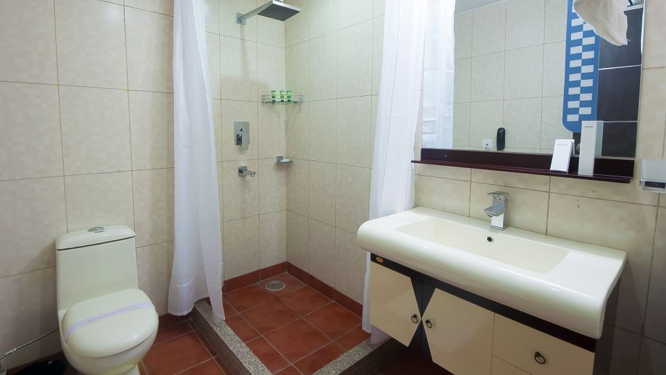 Hotel Aura IGI Airport, New Delhi New Delhi Bathroom Hotel Aura Airport New Delhi 1