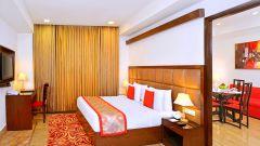 Suite Bedroom at Taurus Sarovar Portico New Delhi