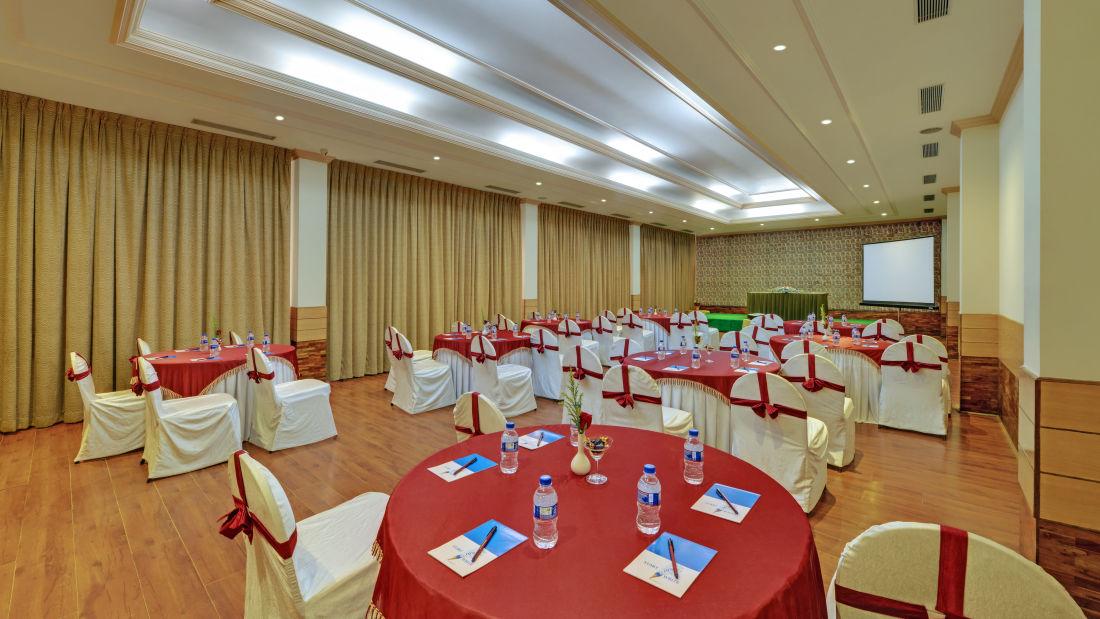 Banquet Hall in Tiruchirappalli at the SRM Hotel 1