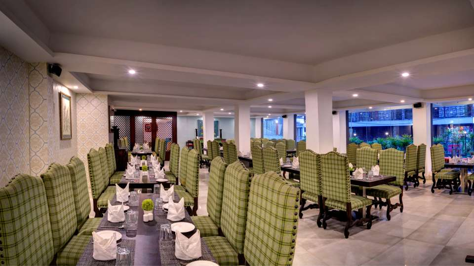 restaurant at Summit Denzong Hotel Spa Gangtok 2