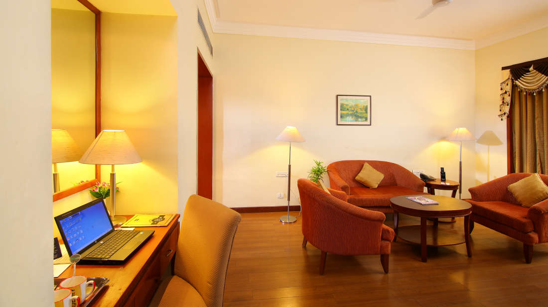 Suite with Living Room Hotel Royal Court Madurai 1