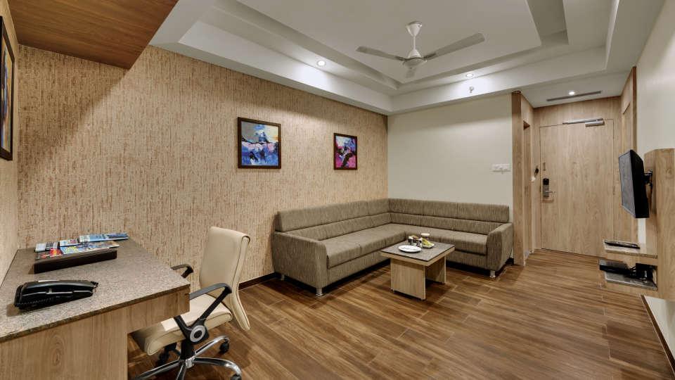 Suite at Anaya Beacon Hotel in Jamnagar 4