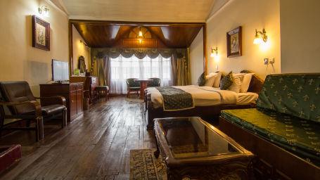 Central Heritage Resort & Spa, Darjeeling Darjeeling Club Room Central Heritage Resort and Spa Hotel in Darjeeling