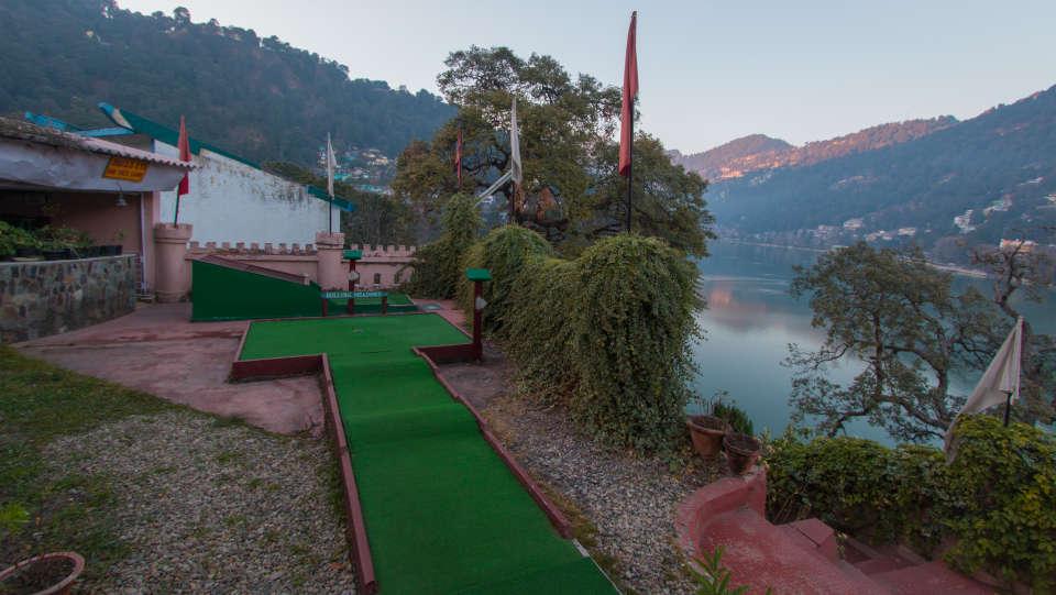 Hotel Himalaya, Nainital Nainital Mini Golf Course Hotel Himalaya Nainital 9