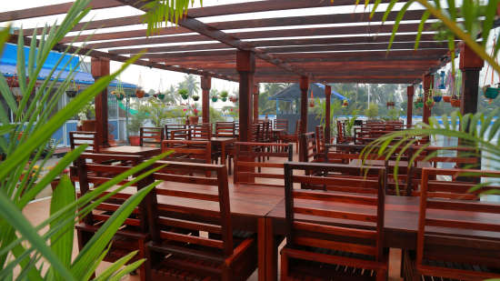 Cherai Rooftop Restaurant- Inside View