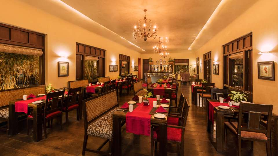 The Coriander Leaf-Restaurant in Bhopal-Jehan Numa Retreat-Resorts in Bhopal