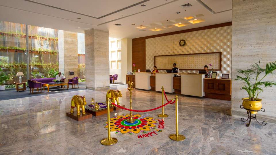 Hotel and Lobby The Orchid Hotel Pune 10