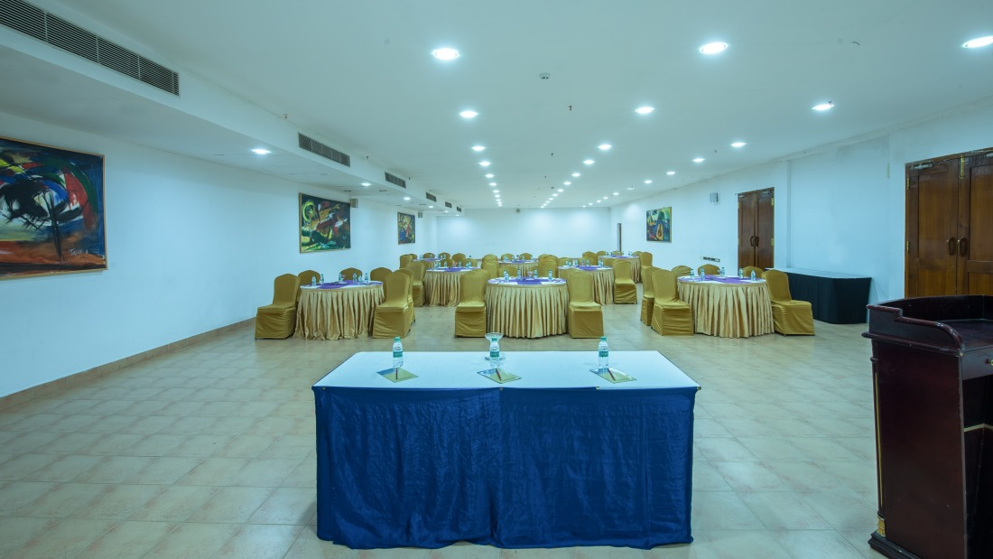 Conference Room 2 layout 2 at Chariot Beach Resort in Mahabalipuram 1