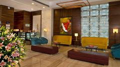 Lobby, Golden Tulip, hotel in Lucknow