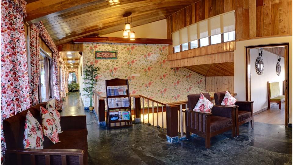 Lobby at Summit Namnang Courtyard Spa Gangtok 2