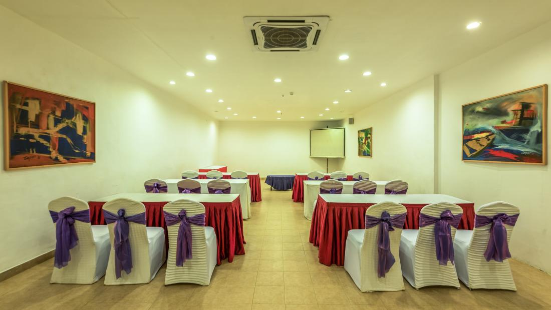 Conference Room 3 Layout 2 at Chariot Beach Resort in Mahabalipuram 2