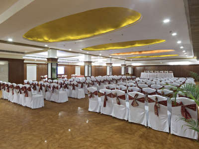 Banquet Hall at Clarks Avadh, hotel near gomti river in Lucknow, Luknow Hotel 10