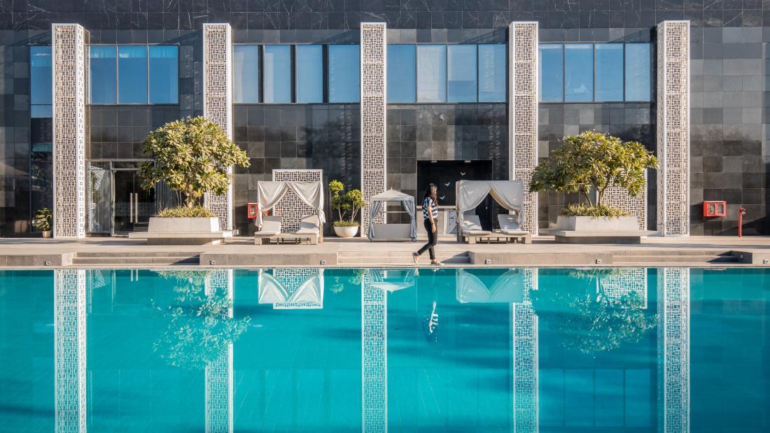 Karma Lakelands Swimming Pool in Gurgaon Resorts with Swimming Pool in Gurgaon Pool Villas in Gurgaon 8