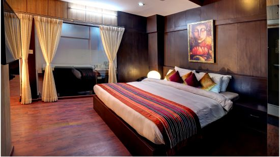 Suite room at Mount Embassy Hotel in Siliguri