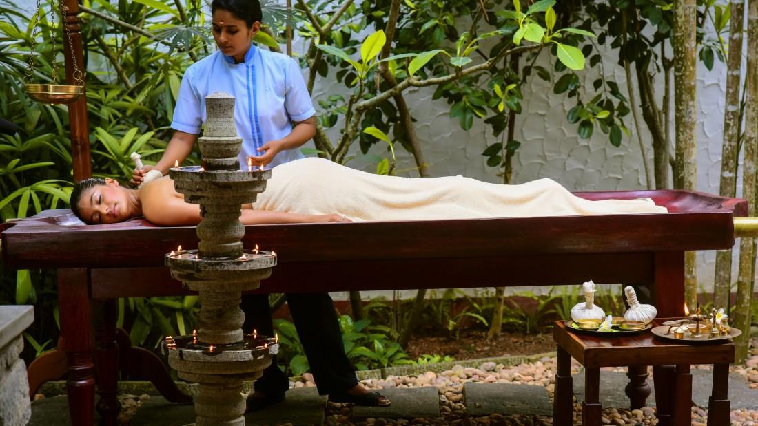 spa Niraamaya Surya Samudra Resorts in Kovalam