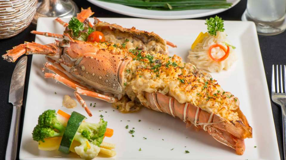 Lobster Thermidor, restaurant near churchgate, the Ambassador Mumbai