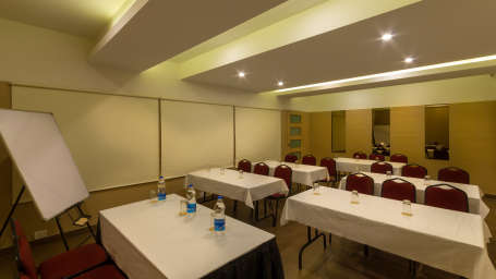 Class Room Style Seating at Hotel Sandhya Residency Bangalore