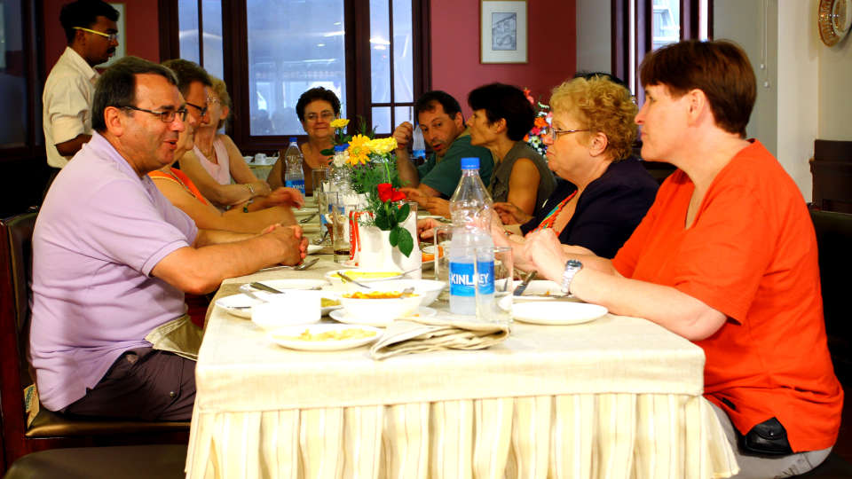 Hotel Arches, Fort Kochi Kochi group lunch Hotel Arches Fort Kochi