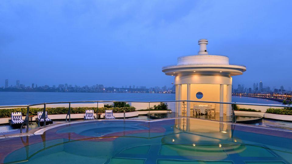 The Allamanda terrace at Hotel Marine Plaza Mumbai