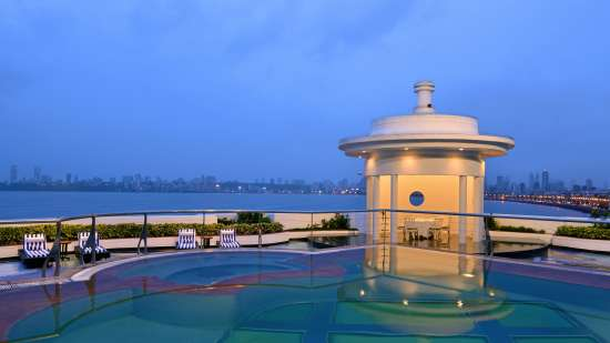 The Allamanda terrace at Hotel Marine Plaza Mumbai