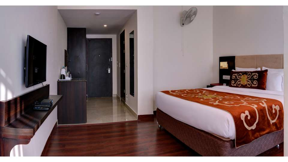 deluxe rooms at Summit Denzong Hotel Spa Gangtok 2