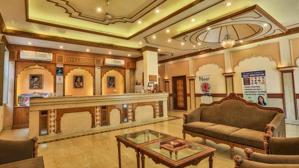 Reception at Hotel Vasundhara Palace Rishikesh 2