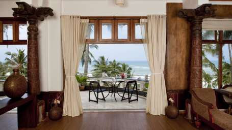 Lounge at Turtle Leisureville, Kovalam Turtle Annexe