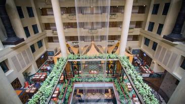 Lobby Fountain Top View