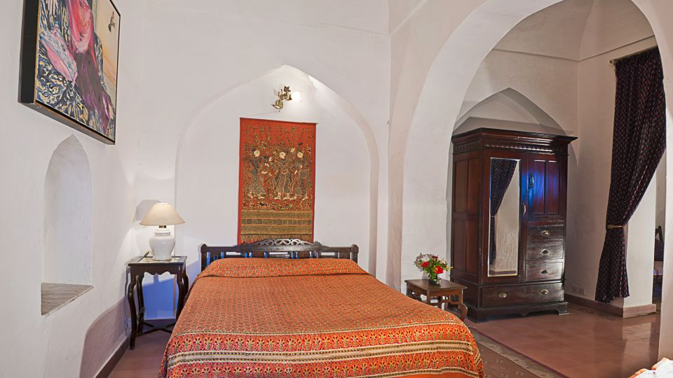 Neemrana Fort-Palace - 15th C, Delhi-Jaipur Highway Neemrana Gulab Mahal Hotel Neemrana Fort Palace Neemrana Rajasthan 1