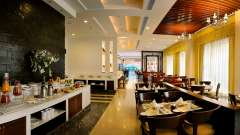 Cafe 55 at Park Inn, Gurgaon - A Carlson Brand Managed by Sarovar Hotels, gurgaon hotels 5