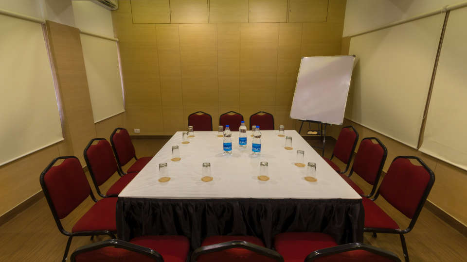 Board Room Style Seating at Hotel Sandhya Residency Bangalore