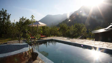 Swimming Pool LaRiSa Mountain Resort Manali - Manali Hotels