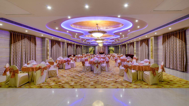 Banquet Hall at Nidhivan Sarovar Portico Vrindavan_ best hotels in vrindavan 11