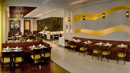 Cafe 55 at Park Inn, Gurgaon - A Carlson Brand Managed by Sarovar Hotels, gurgaon restaurants 3