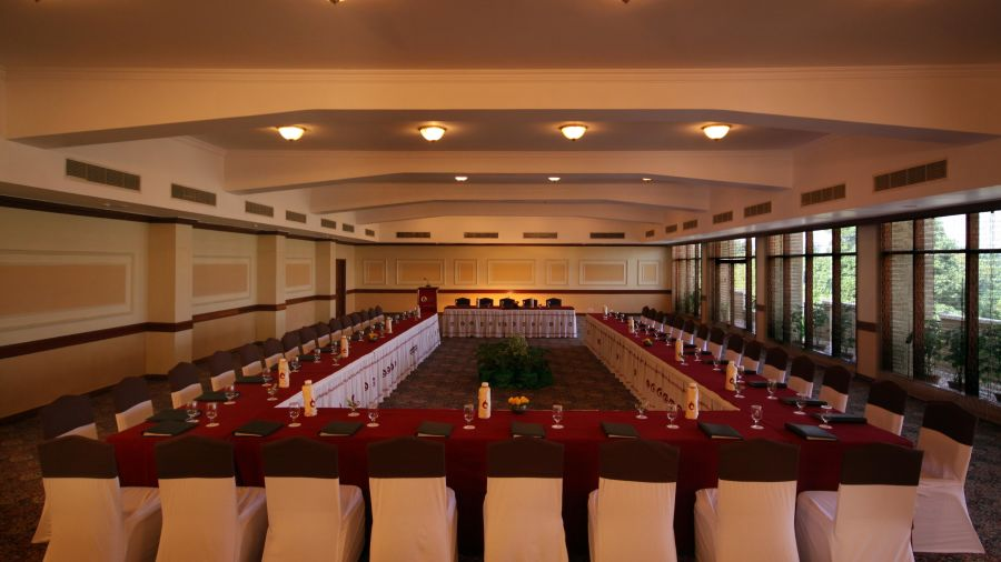 H. Mandap Hall at Clarks Khajuraho 5 star hotel in Khajurahp
