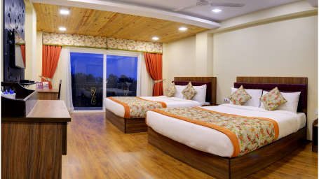 Family Room Summit Barsana Resort Spa Kalimpong
