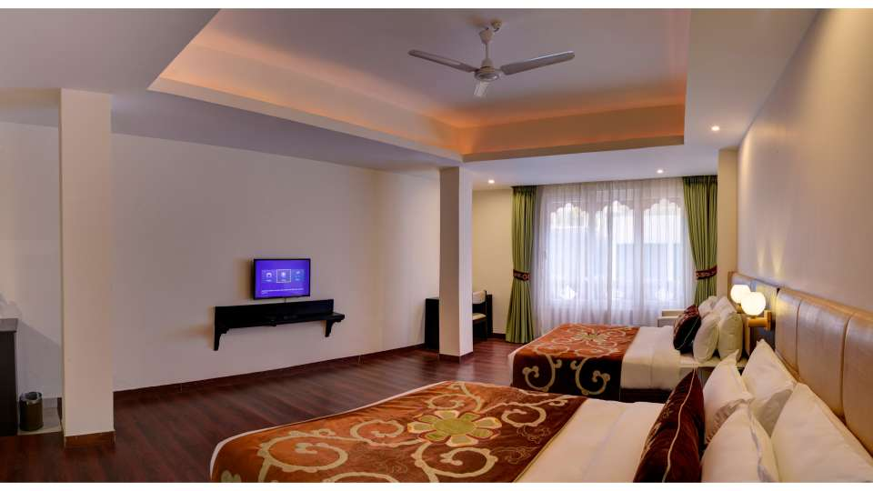 Family Suite at Summit Denzong Hotel Spa Gangtok 22