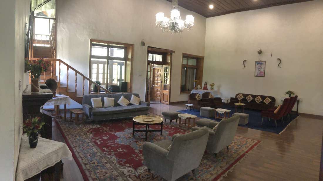 Hall at Ramgarh Heritage Villa, Manali 1