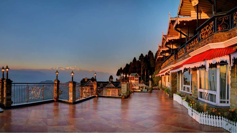 Exterior1 Summit Grace Hotel and Spa, Darjeeling
