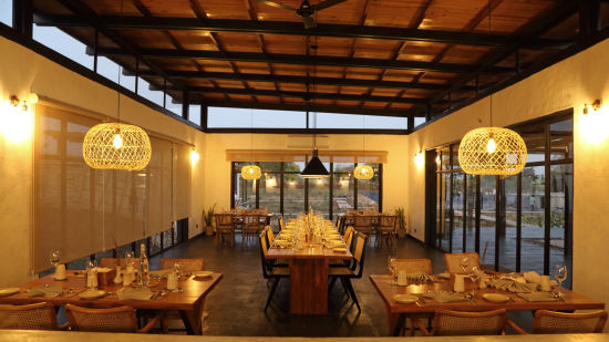 Dining,  Bori Safari Lodge, Betul, Resort near Bori Wildlife Sanctuary