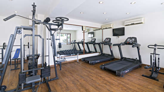 Gym at Clarks Avadh, hotel near gomti river in Lucknow, Luknow Hotel