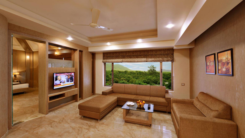 Living Area at our suites in Sasan Gir, Stay in Sasan Gir-1, Sarovar Portico, Sasan Gir