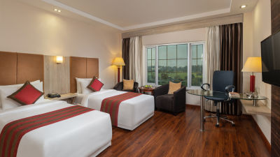 Nidhivan Twin Room