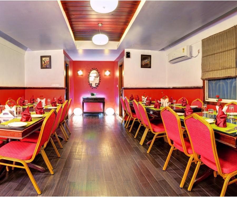 alt-text Embassy cafe at Mount Embassy Hotel Siliguri