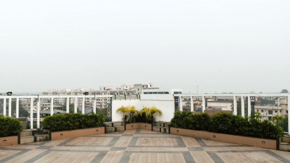 Open Terrace at Mount Milestone Hotel Banquets Siliguri 1