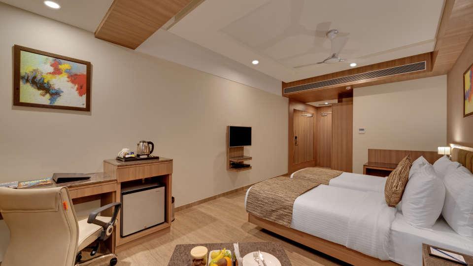 Executive Twin Bed at Anaya Beacon Hotel in Jamnagar 1