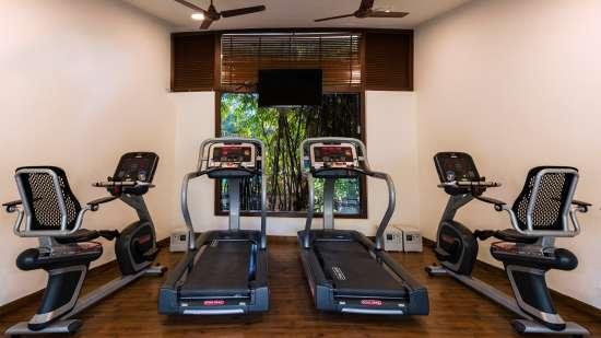 Fitness Center at Jehan Numa, Bhopal-Luxury Resort in Bhopal 3