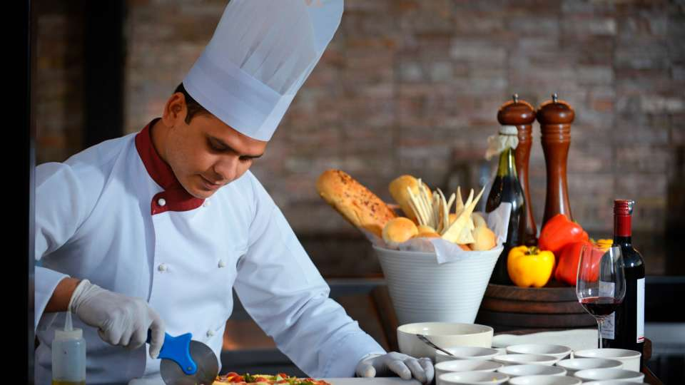 Sky Grill Restaurant at Crystal Sarovar Premier Agra 5 star restaurants in agra 5
