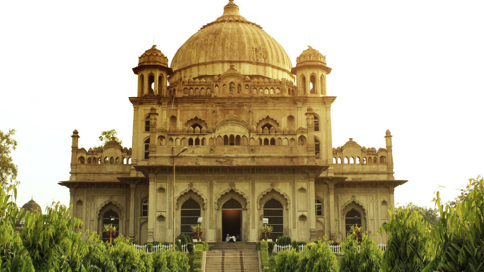 Begum Hazrat Mahal Park, La Place Sarovar Portico Lucknow, 5 star hotels in lucknow