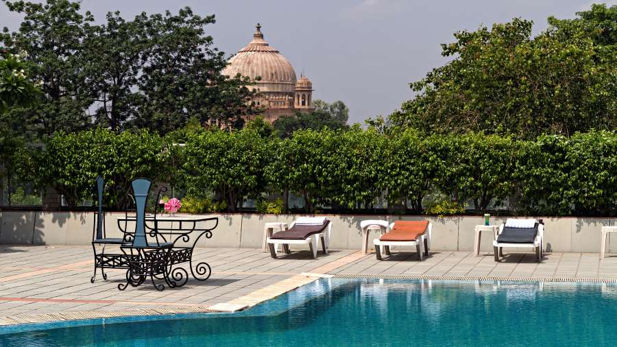 Swimming Pool - Clarks Avadh, hotel near gomti river , Luknow Hotel
